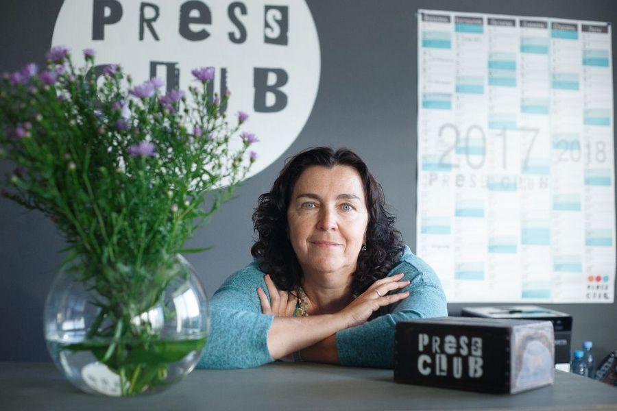 Юлия Слуцкая, основательница Пресс-клуба Беларусь