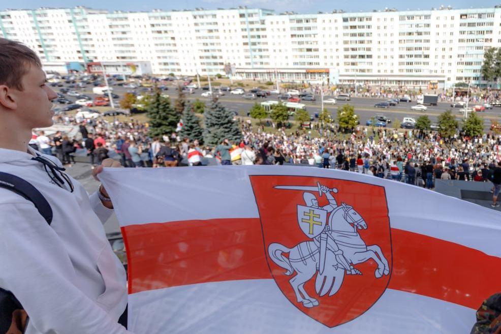Фото: протесты, проходившие в августе в Минске, автор Redko.я