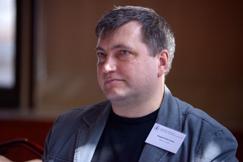 Старшыня Беларускай асацыяцыі журналістаў Андрэй Бастунец.