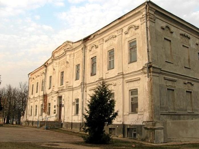 Палац Солтанаў у Дзятлаве, які першапачаткова належаў Радзівілам