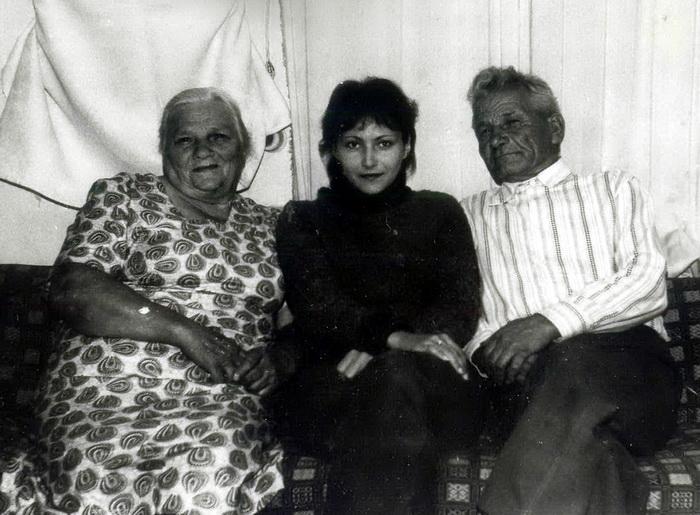 З бабуляй і дзядулем