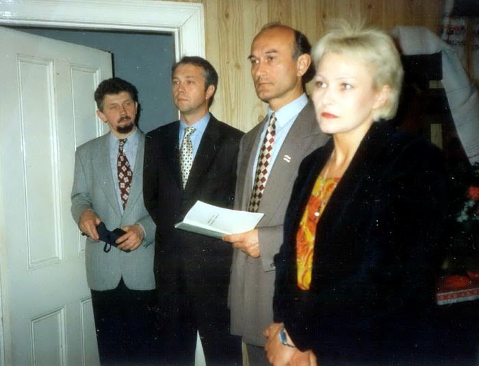 Навумчык, Еўдакімаў, Пазьняк, Лунёва