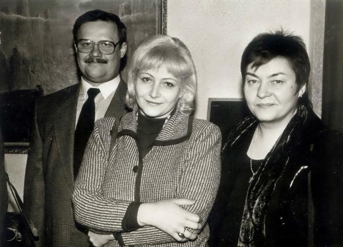 З Жаннай Літвіной і Віктарам Івашкевічам