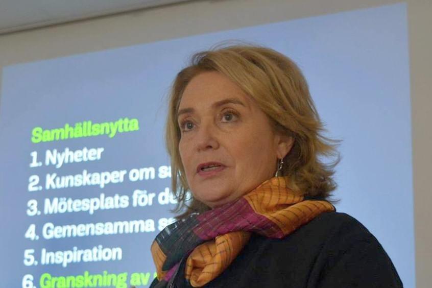 Координатор программ шведского медиаинстута Fojo Ольга Вале