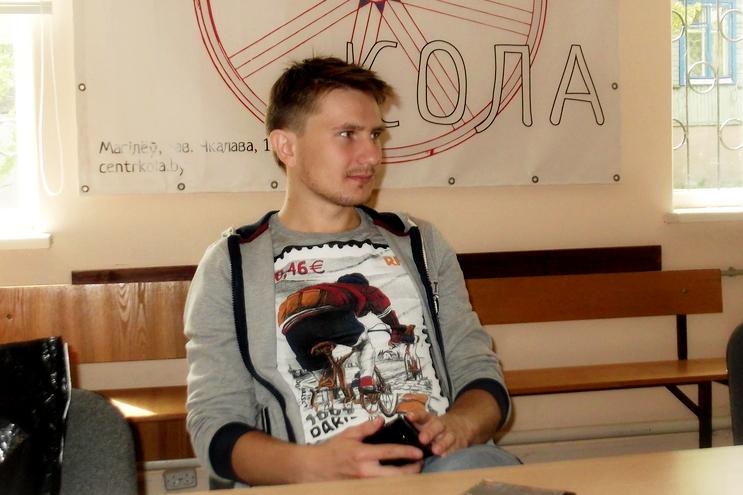 Міліцыя прыпыніла праверку ў дачыненні да магілёўскага журналіста Аляксандра Буракова