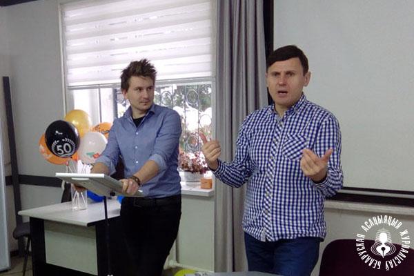 Аляксандр Буракоў (малодшы) і Аляксандр Буракоў (старэйшы)