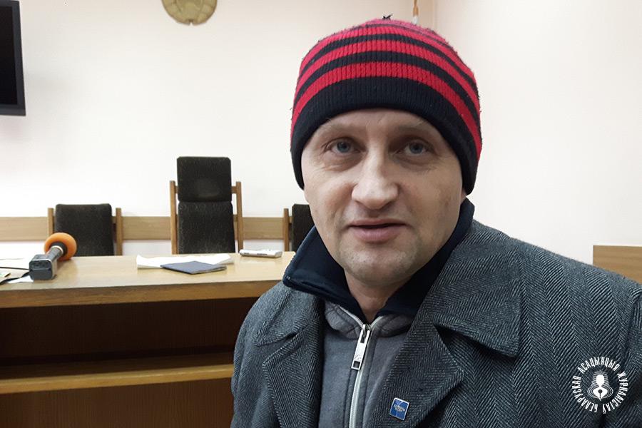 Журналіст Кастусь Жукоўскі