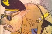 """""""Гнілы"""" Захад, НАТО, дзядзька Сэм і іншыя — на якіх тэмах """"адрываўся"""" савецкі сатырычны часопіс """"Кракадзіл"""""""