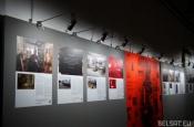 Чаму працу мастака Алеся Пушкіна на выставе «ZBOR» завесілі чорнай заслонай