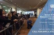 The Reham Al-Farra Memorial Journalism Fellowship (deadline is 7 May)
