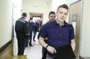 Блогер Пратасевіч даказаў у судзе, што здаваў экзамен, калі міліцыя «бачыла» яго ў Курапатах
