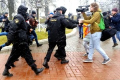 Attacks on journalists, bloggers and media workers in Belarus, Russia and Ukraine: 2017-2019