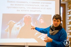В Гродно прошел круглый стол по цифровой и компьютерной безопасности, организованный Белорусской ассоциацией журналистов на площадке HrodnaMediaRoom