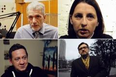 Украінскія калегі згадваюць журналіста Паўла Шарамета