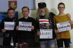 """Бабруйскія журналісты і блогеры далучыліся да кампаніі """"Станем за вольны Байнэт!""""."""