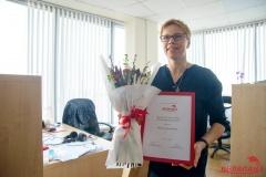Марина Золотова стала лауреатом премии «Гонар журналістыкі» имени Алеся Липая