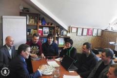 Павераны ў справах ЗША Роберт Райлі сустрэўся з прадстаўнікамі Беларускай асацыяцыі журналістаў і незалежнымі журналістамі
