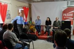 Прэс-клуб у Гомелі: 81 працэнт жыхароў рэгіёна незадаволеныя інфармацыяй ад уладаў