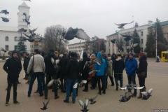 Затрыманы блогер Кабанаў. Па Берасьці прайшоў марш праціўнікаў акумулятарнага заводу