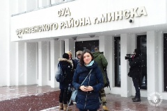 'I feel the need to cover human problems'. A freelance journalist Volha Chaichyts fined again