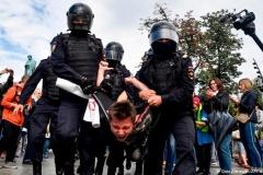 Расійскія ўлады патрабуюць ад Google цэнзураваць звесткі «пра незаконныя акцыі» на YouTube