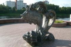 У Віцебску другі раз абрабавалі скульптуру. СК дапытаў журналістаў, якія пра гэта напісалі