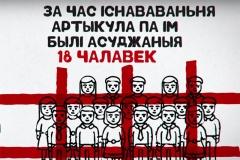 Скасоўваецца артыкул 193.1 КК. За час яго дзеяння былі асуджаныя 13 чалавек ВІДЭА