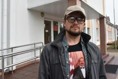 Суд у Акцябрскім: міліцыянты не прызнаюць пазоў блогера і супярэчаць сабе