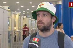 Футбольные фанаты превращаются в болельщиков Европейских игр. Фейк от «Беларусь 1» :)