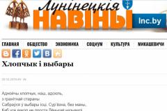 Раённыя сайты Берасцейшчыны працягваюць публікаваць негатыўныя артыкулы пра апазіцыю