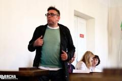"""Блогера Пятрухіна аштрафавалі за зварот да міліцыянта """"у назойлівай форме"""""""