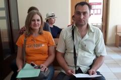Віцебскі абласны суд не адмяніў штрафы Алене Шабуні і Вячаславу Лазараву