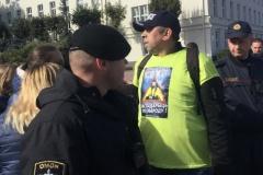 У Брэсце затрымалі блогера падчас акцыі пратэсту