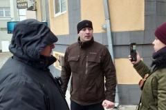 У Магілёве журналістаў затрымлівалі за пазітыўны сюжэт пра гарадскі тралейбус