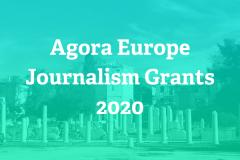 Гранты Agora Global для журналістаў. Дэдлайн 22 чэрвеня