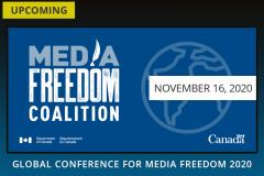 Регистрация на Global Conference for Media Freedom 2020 (до 17:00 в пятницу)