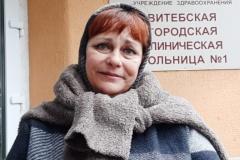 Блогерку Алену Янушкоўскую дапыталі ў лякарні