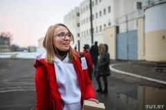 Журналистка TUT.BY Александра Квиткевич вышла на свободу после 15 суток ареста ФОТО