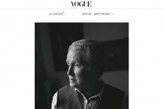 Такого еще не было. Фотографии Нины Багинской появились в итальянском Vogue