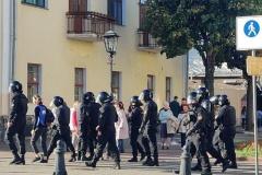 Затрыманні журналістаў 4 кастрычніка: пяць чалавек застаюцца ў ІЧУ да суда