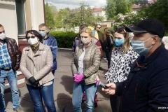 В Бобруйске медики скорой сорвали съемки сюжета БТ о надбавках