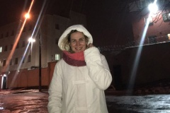 Журналистка «Салiдарнасцi» Тамара Зенина провела ночь на Окрестина: 23.34