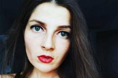 Затрыманая журналістка «Нашай Нівы» Кацярына Карпіцкая