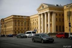 Возле КГБ в Минске задержаны журналисты, в том числе корреспондент TUT.BY