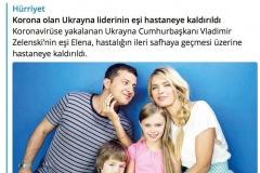 Турецкая газета перепутала настоящую и киношную жену Зеленского