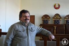 Зміцер Лупач пачаў адбываць пакаранне арыштам, якое прызначыў яму Глыбоцкі раённы суд