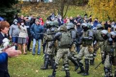 Затрыманні журналістаў 1 лістапада, ёсць збітыя АБНОЎЛЕНА