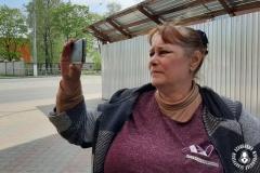 Блогерка Алена Янушкоўская атрымала папярэджанне ад пракуратуры за сюжэт пра Полацкі райвыканкам