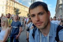 У минского корреспондента Настоящего Времени Романа Васюковича прошел обыск