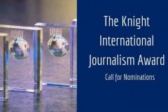 Открыт прием заявок на премию Найтов в журналистике [весь мир]